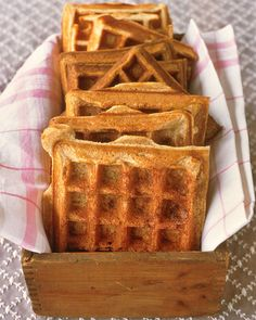 Buttermilk Waffles - Martha Stewart knows her stuff.  They make a good amount so I froze the leftover and they pop in the toaster nicely.