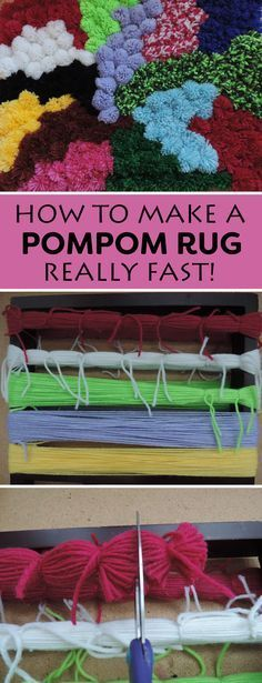 Read this simple trick to making pompoms super fast!