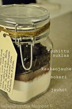 Hella & houkutus: Suklaamuffinsit purkissa