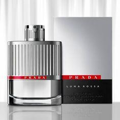 Prada. Luna Rossa cologne. bottle design by Yves Behar. [fellow Art Center alumni. that's right.]