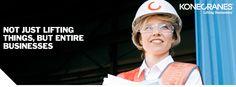 Not just lifting things, but entire businesses - Konecranes tarjoaa monenlaisia nostolaitteita sekä palveluita ympäri maailman, joten erilaisia osaajia etsitään jatkuvasti! Tutustu, mitä Konecranes voi työnantajana tarjota sinulle.