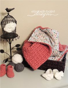 I like this idea because I always feel like the afghans aren't warm enough by themselves. Double Sided, Crochet, Baby Girl Blanket with Bird Patterned Print by ElizabethBalint Crochet Quilt, Crochet Blocks, Baby Blanket Crochet, Crochet Baby, Knit Crochet, Free Crochet, Yarn Projects, Crochet Projects, Bird Patterns