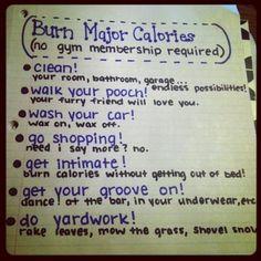 Burn Major Calories