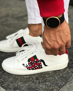 aad8761682d Men s Gucci Sneakers Most popular fashion blog for Men - Men s LookBook ®  Mens Clothing Styles