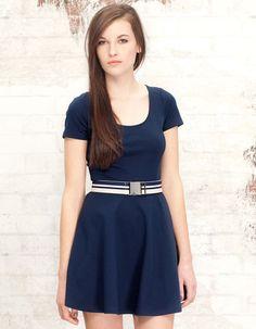 Basic dress with zip