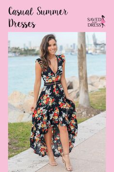 Browse our trendy casual dresses like everyday, summer dresses, maxi dresses, floral dresses and more. Find cute everyday dresses at Saved by the Dress. Simple Dresses, Cute Dresses, Casual Dresses, Fashion Dresses, Summer Dresses, Boutique Dress Shops, Floral High Low Dress, Dress Alterations, Everyday Dresses