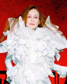 """I think the wolf's a vegetarian.""  .  Tori Amos, Sucker (1996/2016)  .  #toriamos #sucker #boysforpele #BFP20 #viktorandrolf #toriphile #earswithfeet @viktorandrolf #fashion #couture"