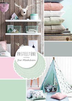 Kidsdepot Kinderzimmer in rosa, mint & grau bei Fantasyroom online kaufen