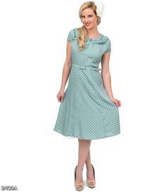 modern vintage dresses green - Google Search