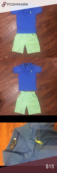 Little boy POLO outfit no flaws. no size tag but for a 3T Polo by Ralph Lauren Matching Sets