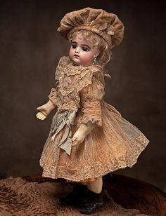 Antique Francois Gaultier Doll