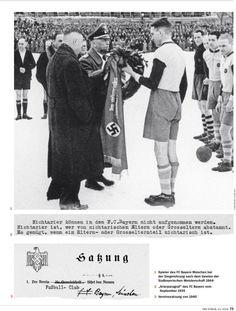 Nicht besser oder schlechter  Expertenstreit um SPIEGEL-Artikel über die NS-Vergangenheit des FC Bayern