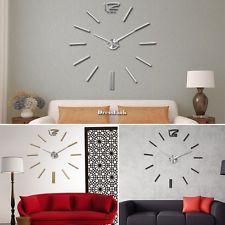 3D DIY Orologio da Parete Moderno Decorazione Regalo Home Wall Clock Sticker DL0