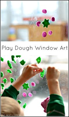 Play Dough Window Ar