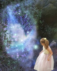 """""""Embrace your inner child, and loving innocence and magickal places will always be available to you.""""  - Jasmeine Moonsong  **original artwork by: LadyXscorpion http://ladyxscorpion.deviantart.com/**  http://wiccanmoonsong.blogspot.com/2014/03/daily-message-march-9-2014.html"""