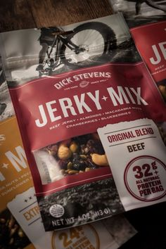 Unique snack Packaging - Dick Stevens Extreme Snacks... #Uniquesnack #Packaging