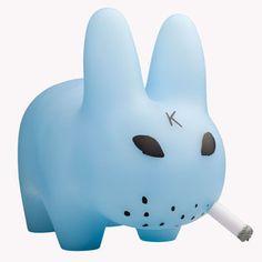 Kidrobot Smorkin' Labbit Blue, $28, now featured on Fab.