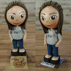 Boneca Personalizada em EVA