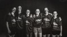 All girls flag football team….