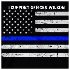 I Support Officer Wilson