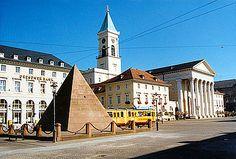 Karlsruhe - Germany Market Platz