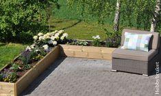 Hobbybruket: Sol, sommer og ny blomsterkasse :) Outdoor Furniture Sets, Outdoor Decor, Outdoor Sectional, Deck, Gardening, Home Decor, Decoration Home, Room Decor, Front Porches