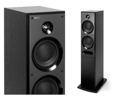 I've got two KEF C75 UniQ speakers. They're fantastic. Definitely recommend them!