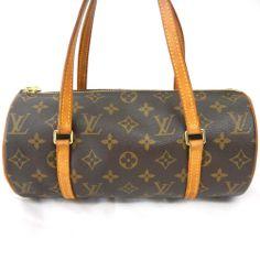 Authentic LOUIS VUITTON Monogram PAPILLON 26 Handbag Bag LV M51386