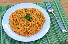 Chicken Enchilada Spaghetti