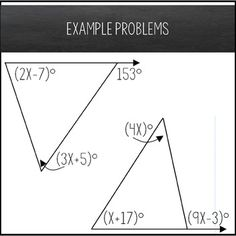 Exterior Angle Theorem Maze   Solving Equations