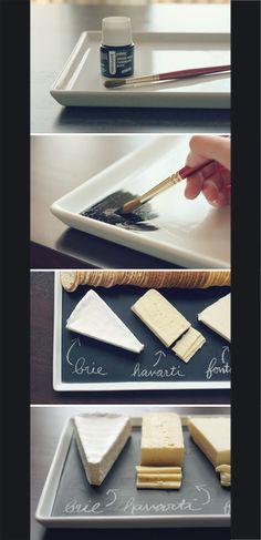 Chalk Paint Tray
