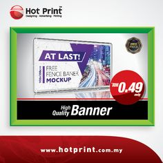 Hot print design advertising banner printing signage and malaysia hot print design advertising reheart Choice Image
