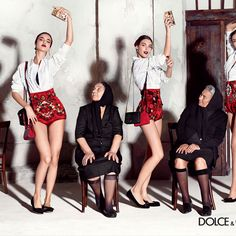 The Spanish influence on the Sicilian traditions and colors is the inspiration for the images of the Spring Summer 2015 advertising campaign featuring the collections designed by Domenico Dolce and Stefano Gabbana, starring Spanish bullfighter José Maria Manzanares joined by models Bianca Balti, Blanca Padilla, Irina Sharipova, Vittoria Ceretti, Misa Patinsky, Travis Cannata and Xavier Serrano.Traditional Italian and Spanish elements combine together to give the images a touch of ...
