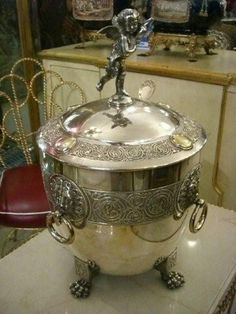 Punch Bowl WMF with Ladle Silver Plate