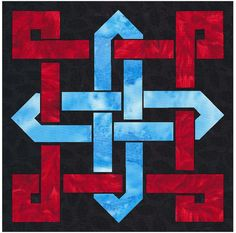 Celtic Knot Block 2 Quilt Applique Pattern by QuiltingSupport, $5.99