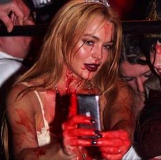 Lindsay Lohan, Series Quotes, Emo, She Wolf, Prom Queens, Scream Queens, Hannah Montana, Red Aesthetic, Foto E Video