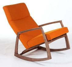 Solid Wooden Lounge Chair