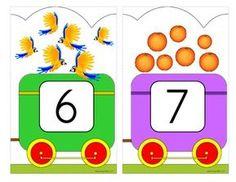 Number Train Wall Decor by KidSparkz Numbers For Kids, Numbers Preschool, Preschool Activities, Kindergarten Math Worksheets, Kindergarten Classroom, Classroom Rules, Classroom Decor, Preschool Bulletin Boards, Board Decoration