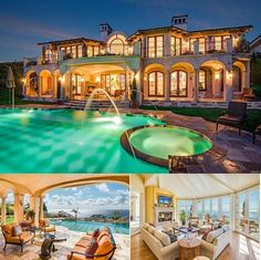 This Mediterranean style home at 30637 Calle De Suenos, Rancho Palos Verdes 90275 expresses superior quality and unobstructed ocean views. It features open, light and comfortable living environment with breath-taking view from almost every room.