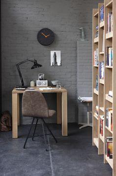 Home - Het Kabinet Loft, Decoration Design, Centre, House Tours, Office Desk, Corner Desk, Dining Room, Industrial, Interior Design