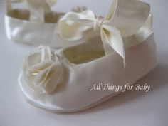 Christening Shoes - Beautiful