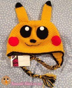 Maz' Marvellous Crochet Creations - super kawaii crochet hats made in the Wairarapa, New Zealand! Kawaii Crochet, Hat Making, Kiwi, Fashion Backpack, Crochet Hats, Beanie, Bags, Knitting Hats, Handbags