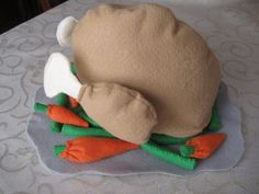 Smashed Peas and Carrots: Thanksgiving Dinner Kidlet-Style