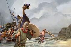 Få en rask oversikt over vikingtokt, vikingskip og de viktigste vikingene med Histories guide til vikingtiden.
