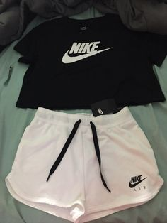 nike on Mercari Cute Nike Outfits, Casual Sporty Outfits, Cute Lazy Outfits, Curvy Outfits, Athletic Outfits, Trendy Outfits, Nike Shorts Outfit, Short Outfits, Girls Fashion Clothes