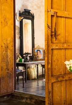 A curio shop in Trinidad, which conservation efforts have turned into a jewel of Spanish colonial architecture.