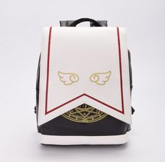Cute card captor sakura backpack from the anime series. This japanese kawaii bag from the clamp manga is for magical girls<br /><br />Size: 25 * 30 * 10 cm Anime Sakura, Sakura Card Captors, Sakura Kinomoto, Cute School Bags, Kawaii Bags, Kawaii Accessories, Cute Bags, Bag Sale, Backpack Bags