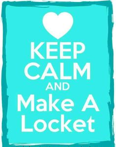 Keep calm & make a locket! Get a hold of me!! Your  #IndependentDesigners Corina and Ingrid or check out our website at www.corinalara.origamiowl.com