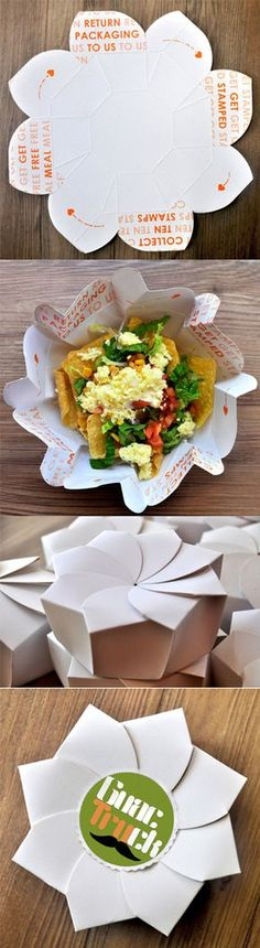What do you think Sarah Reynolds? Guactruck sustainable origami #packaging by Michealle Lee PD
