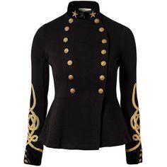 Denim & Supply Ralph Lauren Military Jacket ($350) ❤ liked on Polyvore